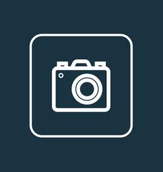 photo apparatus outline symbol premium quality vector image