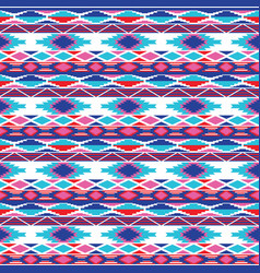 seamless background with geometric pattern vector image