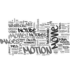 what is movie and movie history text word cloud vector image