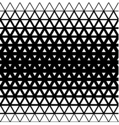 Geometric modern seamless background with triangle vector
