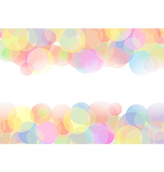 Abstract with circles vector image