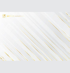 Abstract geometric gold gradient bright color vector