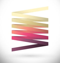 Abstract logotype vector