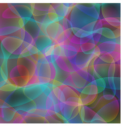 Abstract rainbow colorful wavy background vector