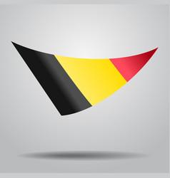 Belgian flag background vector