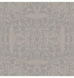 circuit board pattern vector image