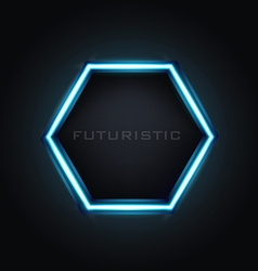 Futuristic banner vector image