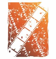 grunge tape pattern vector image