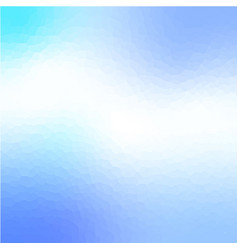 light blue crystallize abstract background vector image