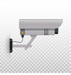 outdoor video camera outdoor cctv camera videcam vector image
