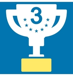 Third prize icon from competition success vector