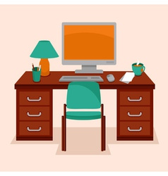 Work station vector