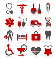 Medical a symbol vector image