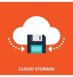Cloud Services vector image