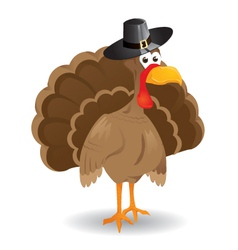 jewish turkey vector image