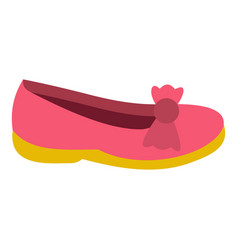 Shoe icon isolated vector