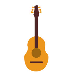 guitar traditional acoustic music vector image