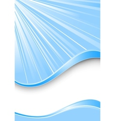 ray background - blue color vector image