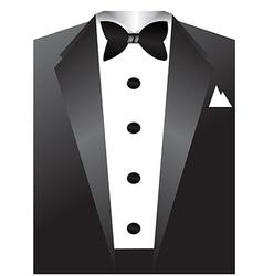 Tuxedo vector image