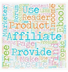 How Free eBooks can Explode your Affiliate Income vector image vector image
