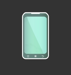 Geometric Smart Phone vector image vector image