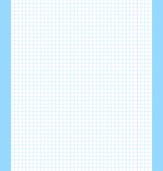 Blank squared notebook sheet transparent vector