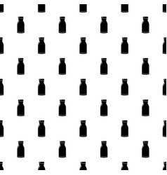 bottle shampoo pattern seamless vector image