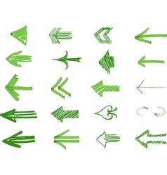 Drawn Arrows vector