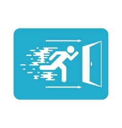 Emergency exit vector