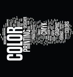 Graphic designers text background word cloud vector