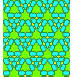 green blue yellow abstract geometric seamless vector image
