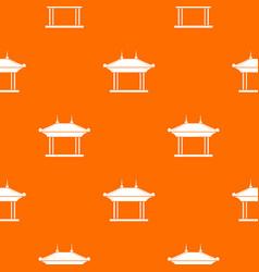 Pagoda pattern seamless vector