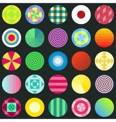 seamless circles texture for wallpapers vector image
