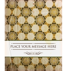 Vintage Wallpaper Design vector