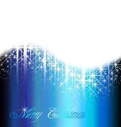 shiny blue background vector image vector image