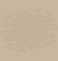 Brick wall flat isolated vector