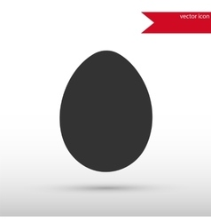 Egg Icon Easter concept vector image