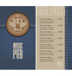 music pub vector image