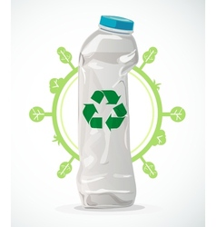 Recycle plastic vector