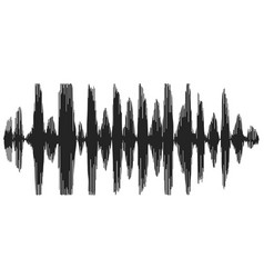 sound waves recording speech speech synthesizer vector image vector image