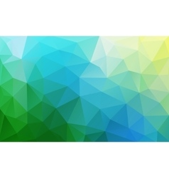 Abstract polygonal fresh geometric background Low vector image