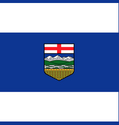 Alberta flag vector