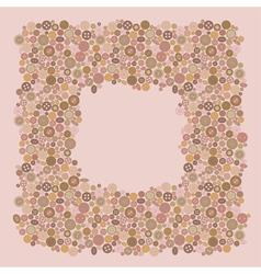 Buttons frame vector
