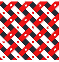 Canada seamless pattern vector