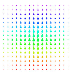 pear icon halftone spectrum grid vector image