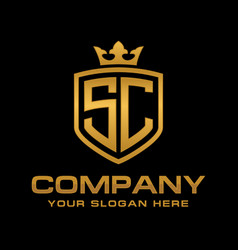 sc logo vector image
