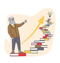 Self development developing mental issues ladder vector