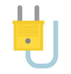 single socket icon flat style vector image