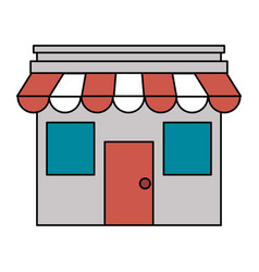 small store or shop icon image vector image