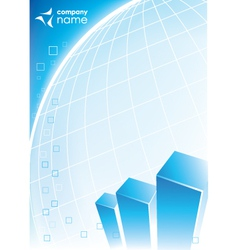corporate business design vector image vector image